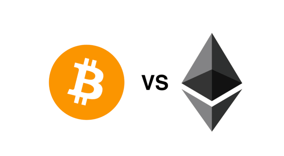 מה ההבדל בין ביטקוין לאטריום Bitcoin vs Ethereum