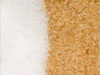 מה ההבדל בין סוכר חום דמררה לבן